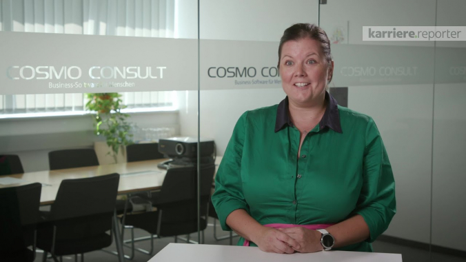Rahmenbedingungen bei COSMO CONSULT | karriere.at