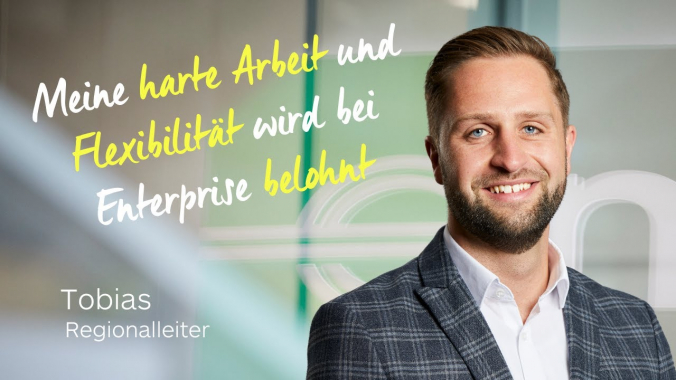 Hervorragende Entwicklungs-  und Aufstiegschancen  Tobias  Enterprise Jobs und Karriere