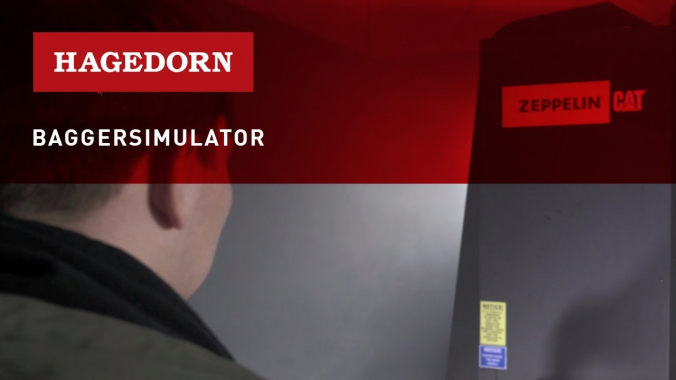 Hagedorn Baggersimulator