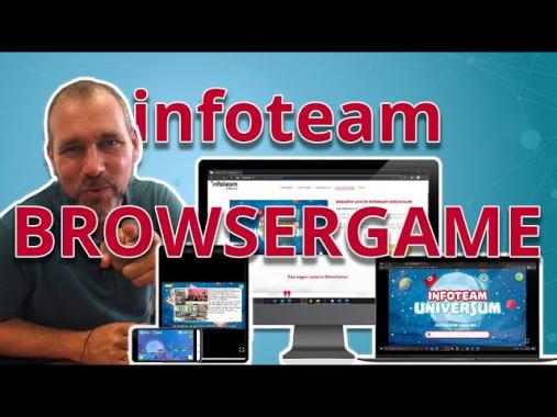 infoteam VLOG: Bald haben wir ein Browsergame