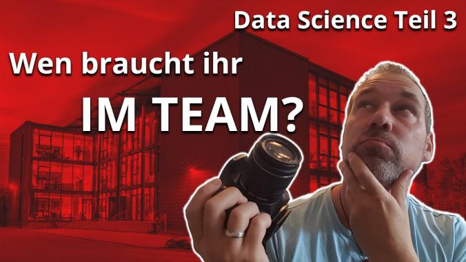 infoteam VLOG:  Data Science Teil 3 - Wie ist das Team Setup?