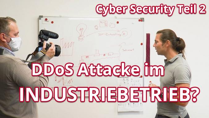 infoteam VLOG: Cyber Security Teil 2 - Braucht es Security im Industriebetrieb?