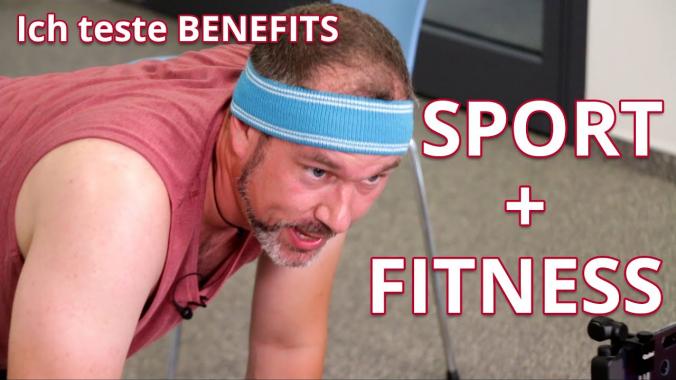 infoteam VLOG: Ich teste Benefits - Heute: Sport + Fitness