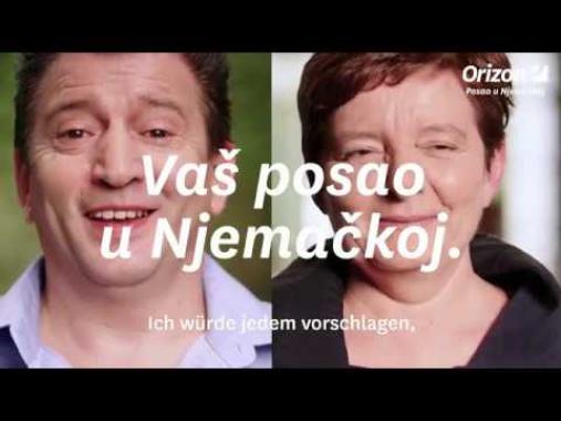 Meine Erfahrung mit Orizon: Jasminka und Zeljkos Job Kurzversion