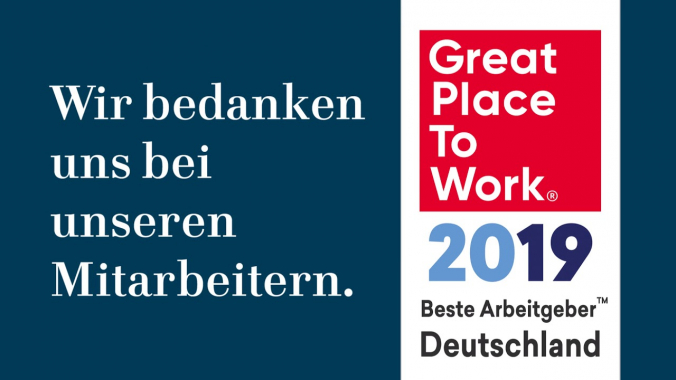Volkswagen Financial Services AG - Great Place To Work 2019!