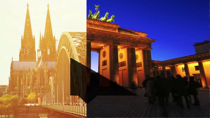 Wir lieben Köln + Berlin