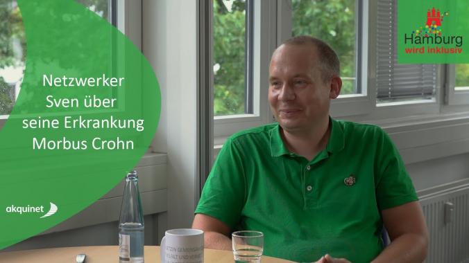 Netzwerker Sven über seine Erkrankung Morbus Crohn