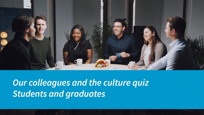 Atlas Copco   Our Colleagues and the Culture Quiz   Students and Graduates