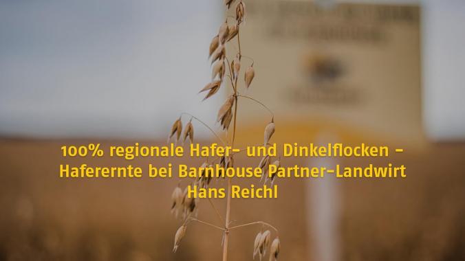 100% Regionalität bei Barnhouse Krunchy