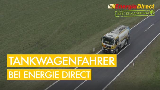 Energie Direct | Einblicke in den Alltag unserer Tankwagenfahrer