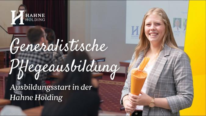 Start für Azubis der Altenpflege - Generalistische Pflegeausbildung | Hahne Holding