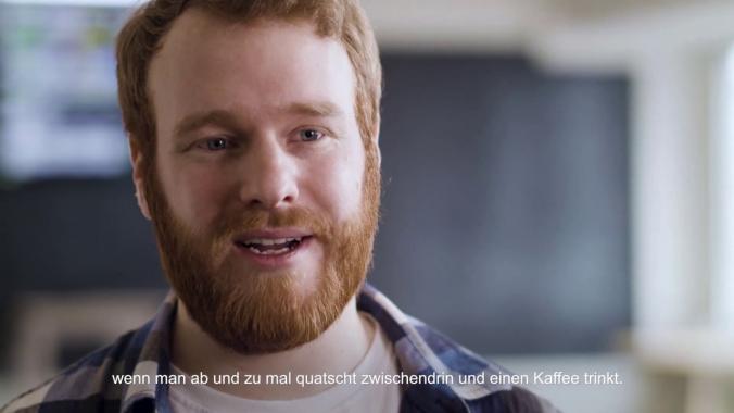 Kopf und Herz-Portrait für mobile Zukunft - Data Scientist Chris