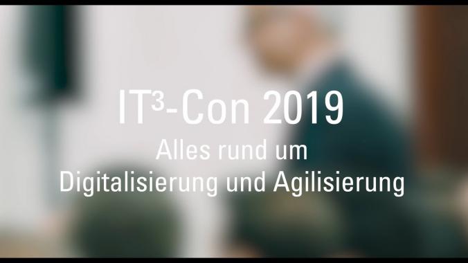 Rückblick: IT³-Con - Alles rund um Digitalisierung und Agilisierung