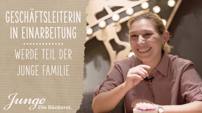 Franziska – Geschäftsleitung in Einarbeitung | WERDE TEIL DER JUNGE FAMILIE