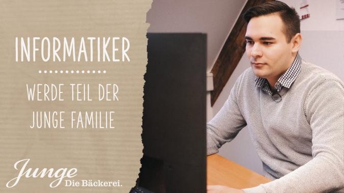Informatiker (m/w/d) | WERDE TEIL DER JUNGE FAMILIE