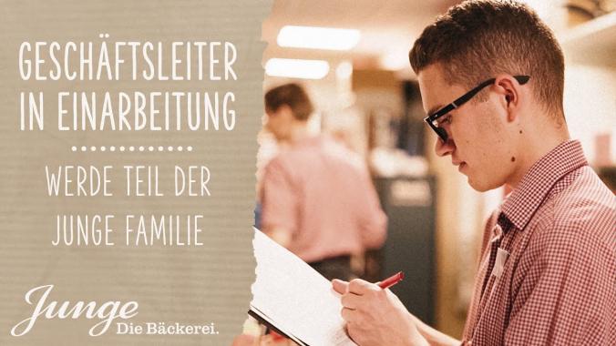 Nico – Geschäftsleitung in Einarbeitung | WERDE TEIL DER JUNGE FAMILIE
