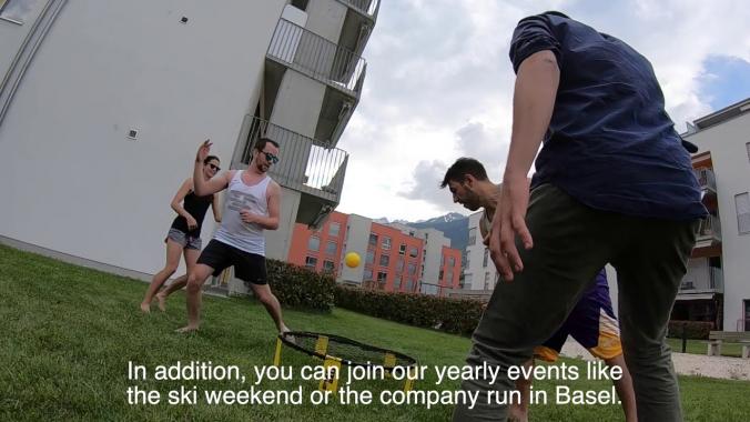 Our sport activities at Pharmaplan Switzerland