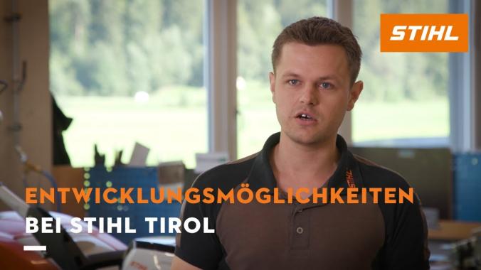 Entwicklungsmöglichkeiten bei STIHL Tirol
