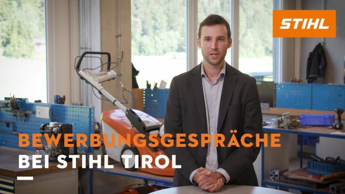 Bewerbungsgespräche bei STIHL Tirol