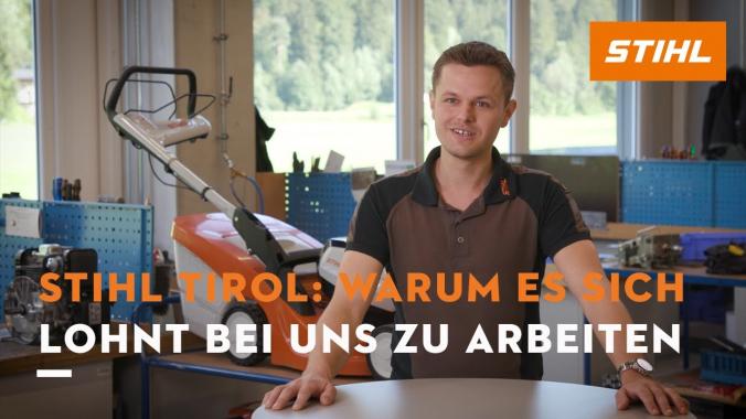 Rahmenbedingungen für die Arbeit bei STIHL Tirol