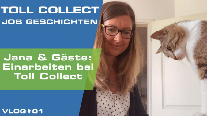 VLOG: Einarbeitung bei Toll Collect - Folge 01