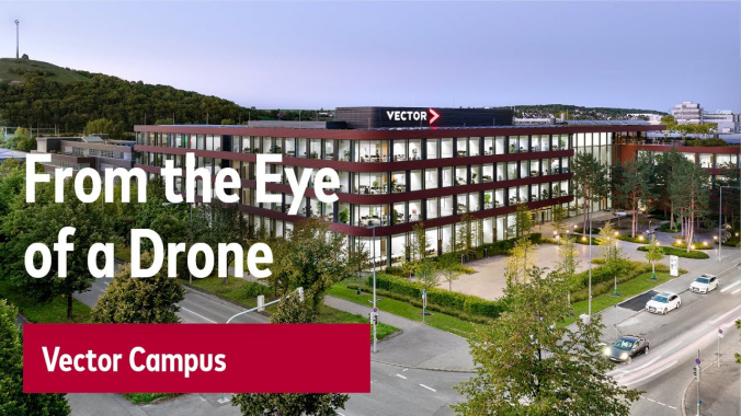 This Is Vector: The Vector Campus From the Eye of a Drone