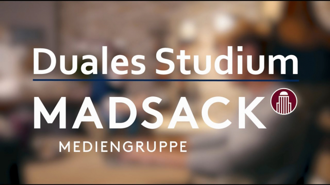 Duales Studium Medienmanagement bei der MADSACK Mediengruppe