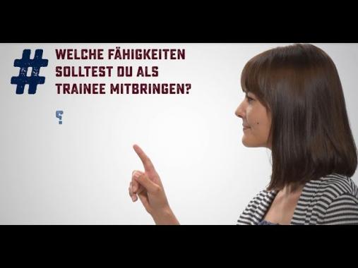 #nachgefragt - Trainees