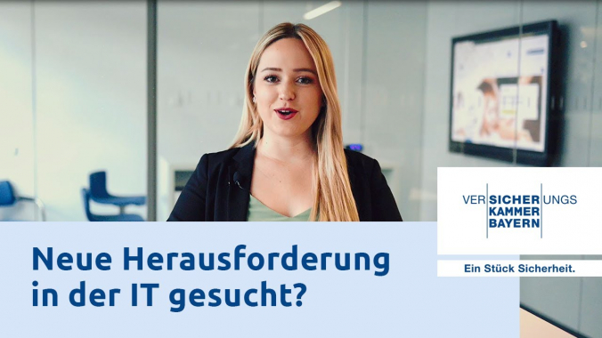 IT Jobs bei der Versicherungskammer Bayern