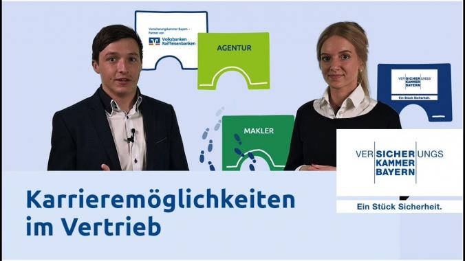 Macht Karriere bei uns im Vertrieb - Versicherungskammer Bayern