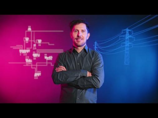Arbeiten bei Amprion: Georg van de Braak stellt die IT für die Systemführung bereit