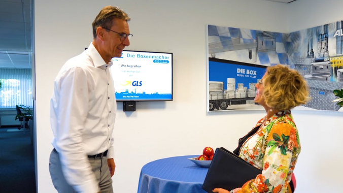 Auf Tour mit Sales Representative Sonja