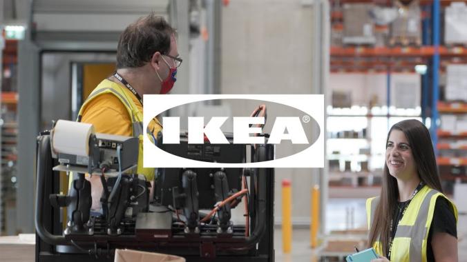 Arbeiten im IKEA Logistikzentrum Wien Strebersdorf