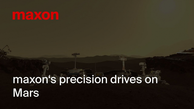 maxon's precision drives on Mars