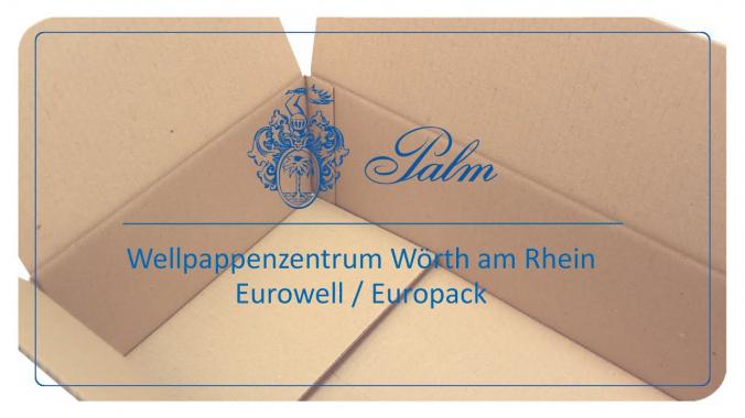 Vorstellung des Standorts Europack und des Palm Produktionszentrums in Wörth am Rhein (D)