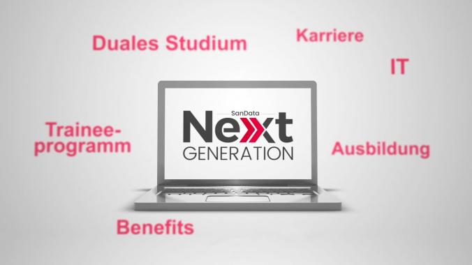 SanData Next Generation - das Nachwuchs-Förderprogramm der SanData IT-Gruppe