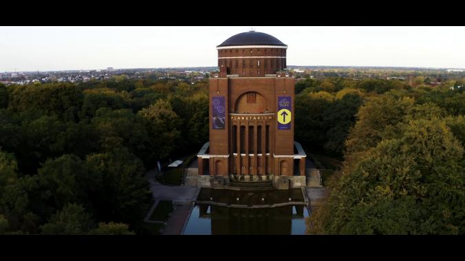 Drohnenflug über Sprinkenhof Objekte