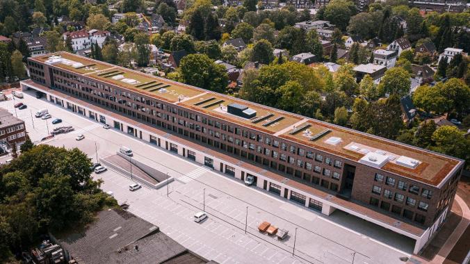 Eröffnung des Gewerbehofs Meistermeile am Offakamp mit Hamburgs Erstem Bürgermeister ...
