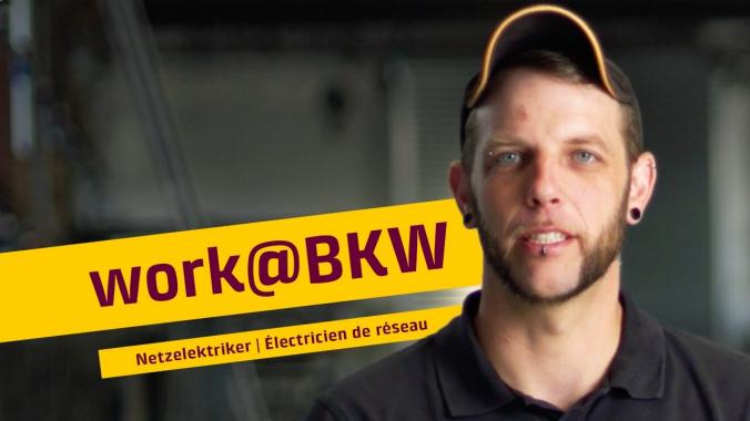 Arbeiten bei der BKW Gruppe | Netzelektriker – Roger Roth | BKW