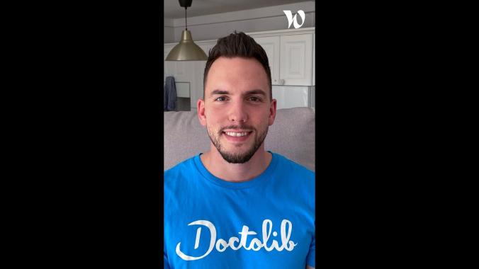 Découvrez Doctolib avec Dominik, Inside Sales Manager