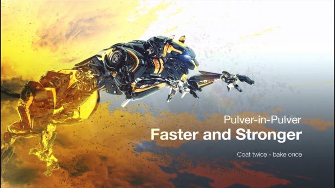 Funktionsweise der Pulver-in-Pulver Technologie | FreiLacke | Pulverlack | lackieren