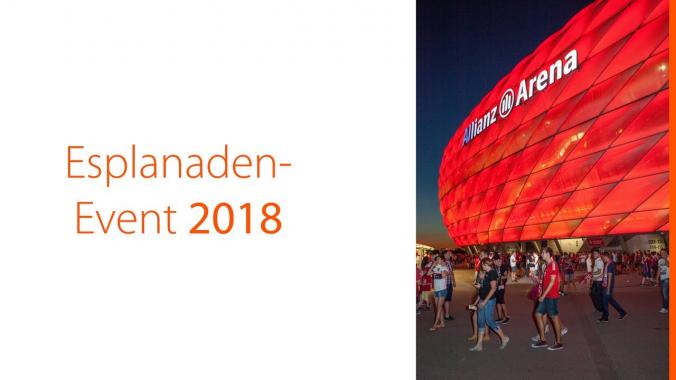 Gigaset FC Bayern München Esplanadenevent 2018