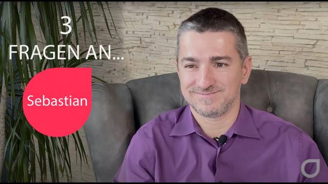 3 Fragen an...Sebastian Burkart, Agile Coach bei Holisticon