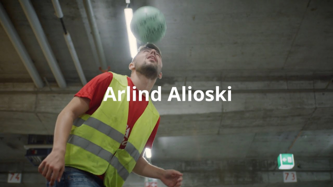 Arlind - Mitarbeiter Logistik Distributionszentrum | IKEA