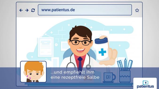 Das ist die Patientus Videosprechstunde!