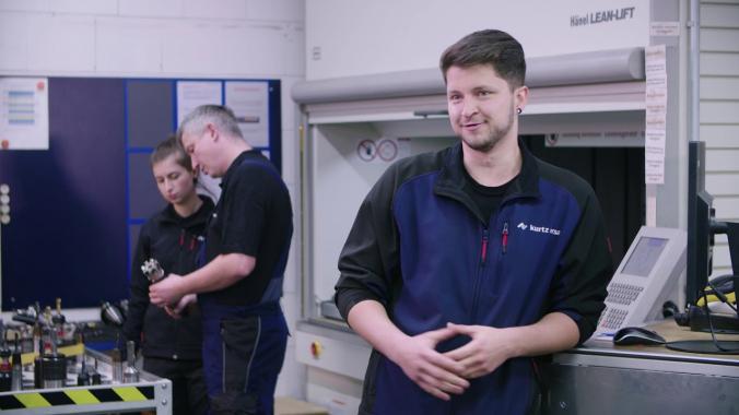 Berufe bei Kurtz Ersa #04: Zerspanungsmechaniker