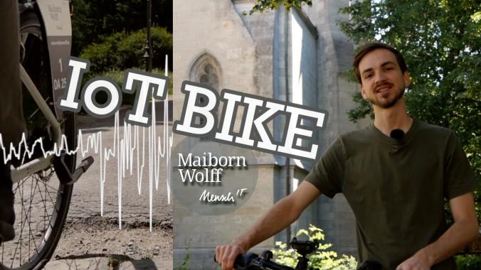 IoT Bike: Crowdsensing für die Fahrradqualität in der Stadt