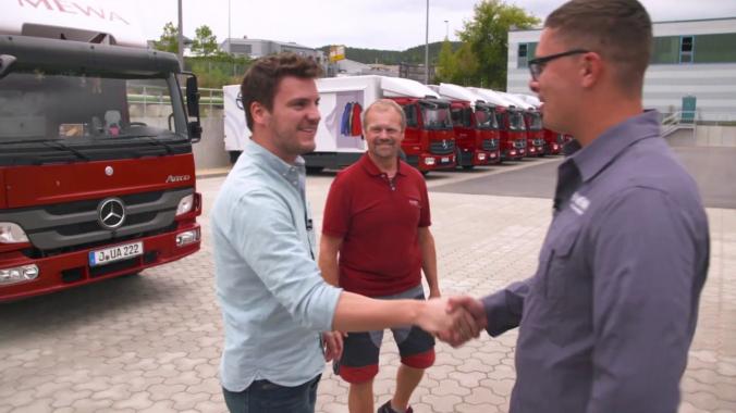 MEWA Reporter Ralf unterwegs: Ein Tag als Servicefahrer
