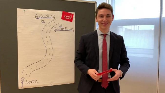 Ausbildung bei der Sparkasse Bochum - Unser Assessmentcenter