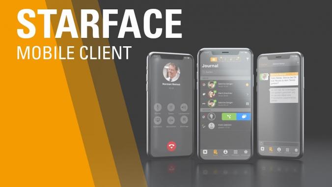 Die Telefonanlage ToGo - STARFACE Mobile Client für Android und iPhone